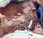 Ribaforada halla una necrópolis medieval islámica con 19 tumbas