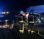 Dos mujeres mueren en un choque frontal en la N-121-A en Ostiz