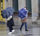 El mayor riesgo de viento en Pamplona se espera durante la tarde y la noche de hoy