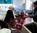 El Banco de Alimentos dice que la lluvia no para la recogida en Navarra