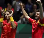 Nadal dobla y España accede a las semifinales de la Davis
