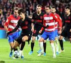 El Granada corta su mala racha y el Atlético de Madrid vuelve a empatar