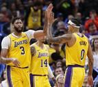 Los Lakers suman su sexto triunfo consecutivo y Doncic sigue brillando