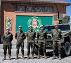 Finalizan su misión en Líbano los soldados navarros del regimiento América 66