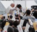 El papa celebra misa en Nagasaki y recuerda a las víctimas de guerras actuales