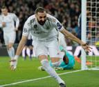 El Real Madrid se desinfla en dos minutos y pasa segundo a octavos