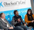 CaixaBank expone su Acción Social en Estella ante un centenar de clientes