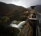 Las precipitaciones de noviembre en Navarra elevan el agua de los embalses un 35%