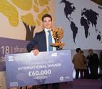 El navarro Juan Abascal, ganador internacional del Premio everis 2019