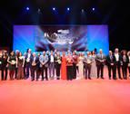 Natalia Lacunza, Mai Garde, AFAN, La Pamplonesa, ADEFAN y Tafalla, galardonados en los IV Premios Navarra Televisión