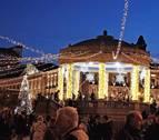 Pamplona aumenta la inversión para colocar las luces de Navidad