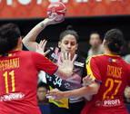 Las 'Guerreras' muestran su fuerza y arrollan a Rumanía en su estreno en el Mundial