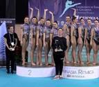 Lagunak y Alaia, oro y plata sénior en el Campeonato de España de Gimnasia Rítmica