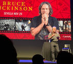 El cantante de Iron Maiden reclama un pantalón robado en Pamplona