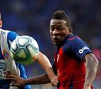 Puntuación de los jugadores de Osasuna contra el Espanyol