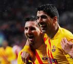 Messi desatasca un encuentro en el que Ter Stegen salvó al Barça