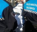 Tres policías municipales heridos en Pamplona en una pelea entre menores