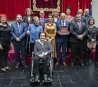 El IES Plaza de la Cruz, los sanitarios y Osasuna, candidatos a la Medalla de Oro