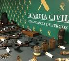 Detenido en Miranda de Ebro (Burgos) con un arsenal de armas y explosivos