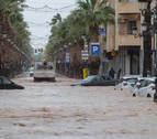El temporal se desplaza a Cataluña y Baleares, tras afectar a Murcia