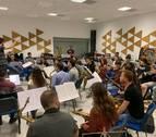 50 músicos unen fuerzas para ofrecer en Tafalla un concierto solidario