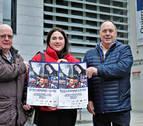 Gala solidaria de 'La Gota de Leche de Pamplona' en la casa de cultura de Villava
