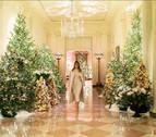 Melania Trump 'modera' la Navidad en la Casa Blanca