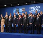 Los líderes de la OTAN llegan a la cumbre destacando la unidad pese a sus diferencias