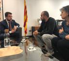 UGT y CC OO exponen a Junqueras en prisión la urgencia del pacto progresista