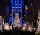 La Navidad llega a Nueva York con el encendido del árbol del Rockefeller Center