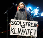 Greta Thunberg, a los políticos: &quotEl cambio viene, os guste o no