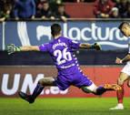Puntuación de los jugadores de Osasuna contra el Sevilla