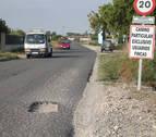 Denunciado un conductor en Tudela tras amenazar a un peatón con una barra de uña