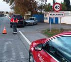 Dos mujeres heridas en una colisión entre dos coches en Murchante