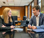 Encuentro en Bilbao entre los responsables de Justicia de Navarra y Euskadi