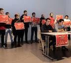 Las plataformas contra las casas de apuestas de Pamplona y Huarte unen sus fuerzas