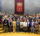 50 asociaciones conmemoran en el Parlamento la Declaración de Derechos Humanos