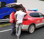 Detenido un camionero en Legasa por agredir con una silla en la cabeza a otro