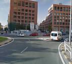 Un joven de 19 años, herido tras ser atropellado por un coche en Pamplona