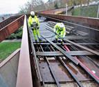 La prueba de carga de Labrit, a la espera de inspeccionar los cimientos