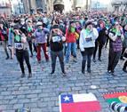 Cientos de personas rechazan en Pamplona