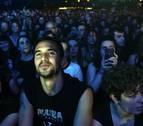 El exrojillo Armenteros muestra su pasión por Marea en el Navarra Arena