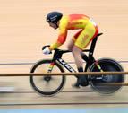Juan Peralta mejora su marca personal en la Copa del Mundo de ciclismo en pista
