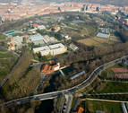 Nuevos caminos y una plaza, en el parque de Aranzadi, uno de los pulmones de Pamplona