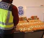 Dos detenidos en Imárcoain con 30 kilos de heroína en su vehículo