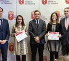 Cristina Gómez y Fernanda Ramón, becas MIR del Colegio de Médicos