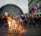 Los sindicatos franceses, en la calle contra la reforma de las pensiones