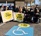 Campaña de Cocemfe para el buen uso del aparcamiento para discapacitados