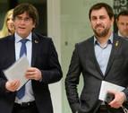 La justicia belga suspende los trámites de la euroorden de Puigdemont y Comín