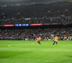 Multa al Barça por los incidentes del Clásico